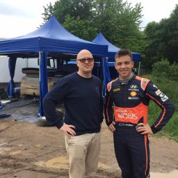 Ole from Norway – a man who wants to make Paddon a World Champion