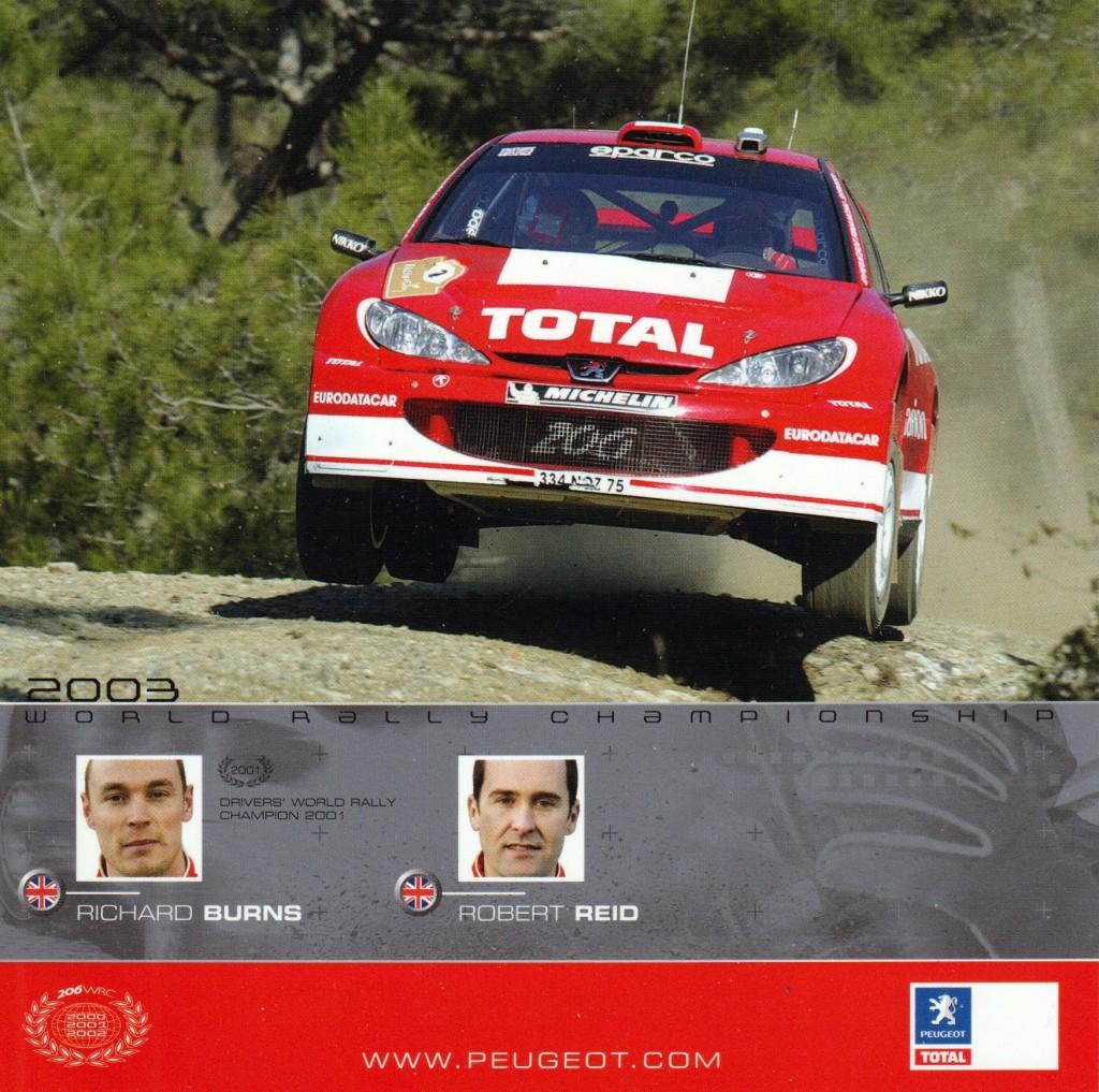 Peugeot Sport Burns kortti,1